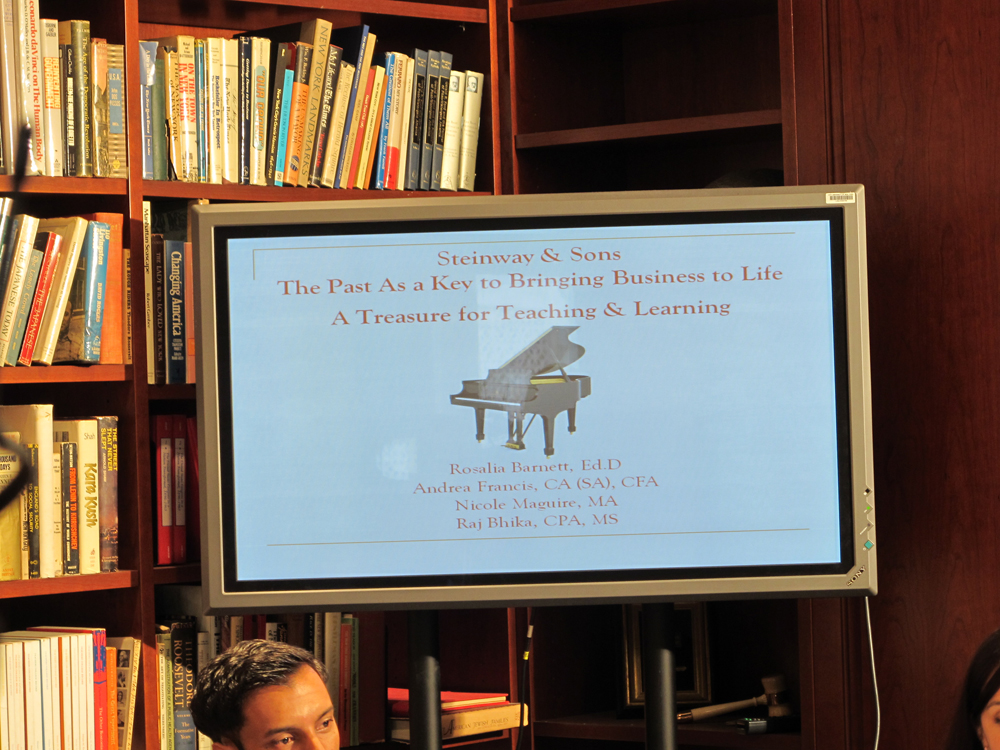 Presentation for Steinway & Sons President: The Past As a Key to Bringing Business to Life(3)