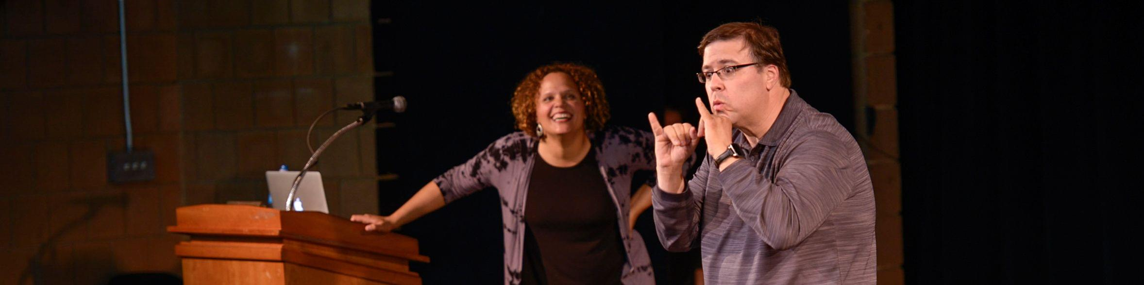 American Sign Language(ASL)-English Interpretation Program