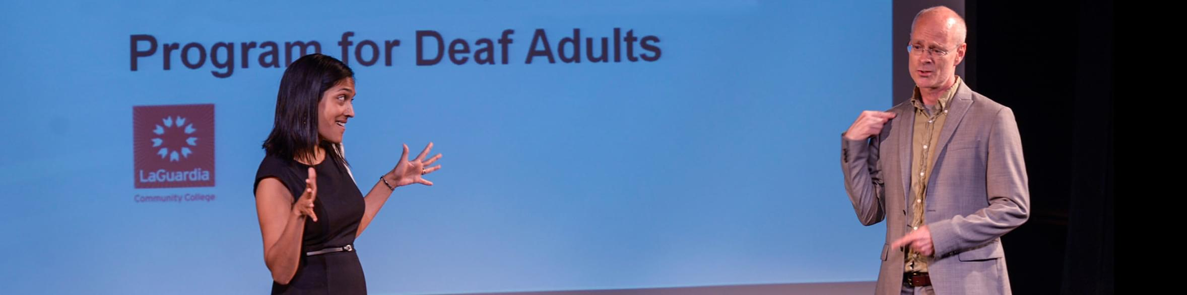 Program for Deaf Adults