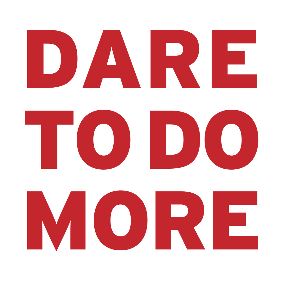 DARE TO DO MORE ICON
