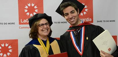 Tertiary Page: Gail Mellow Commencement