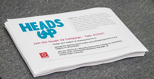 Heads Up Campaign