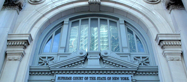 Criminal Justice: Supreme court of the State of New York building