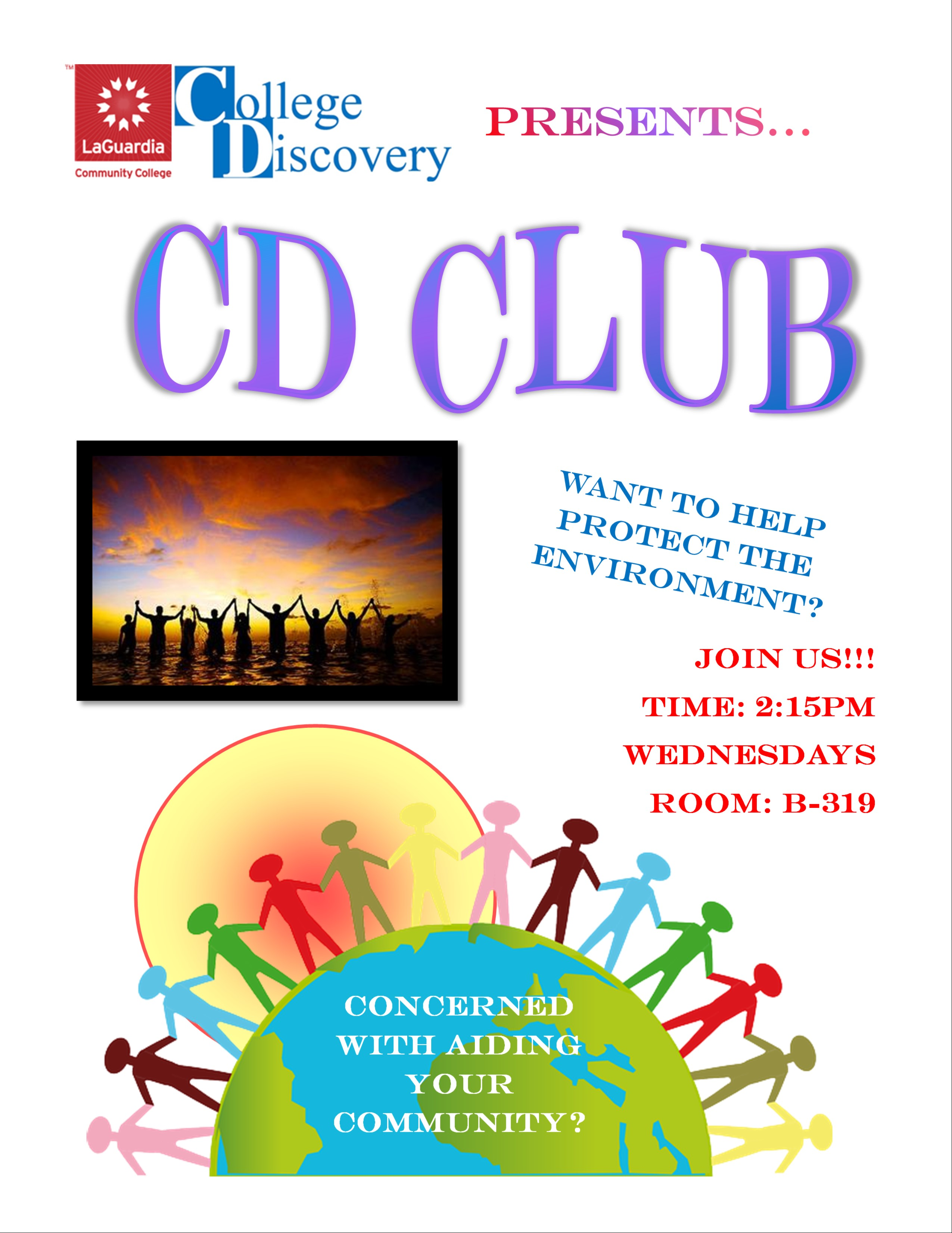 CD Club Flyer