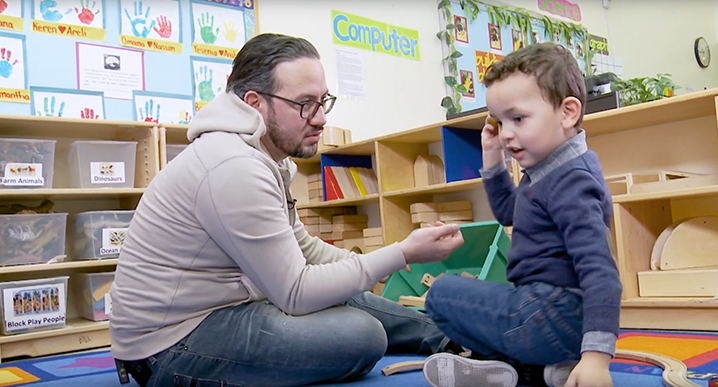 LaGuardia's Early Childhood Learning Center Featured on CUNY-TV