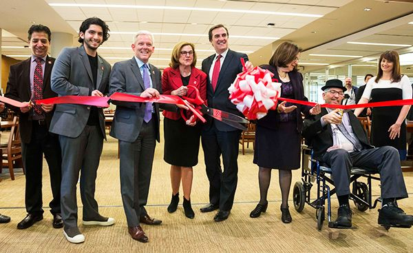 LaGuardia Community College Celebrates Opening Of Expanded Library
