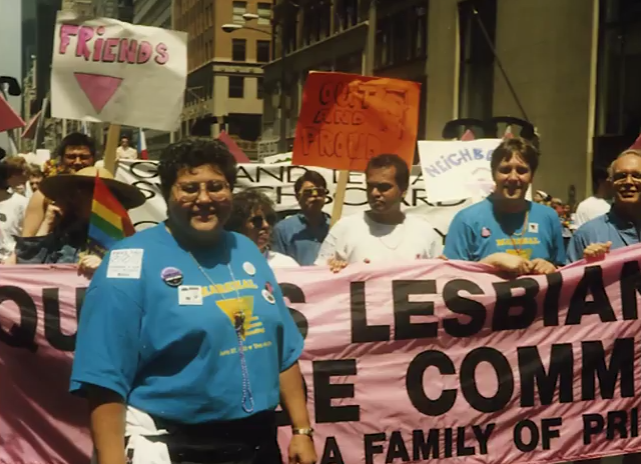 First Queens Pride Parade, 1993 Video