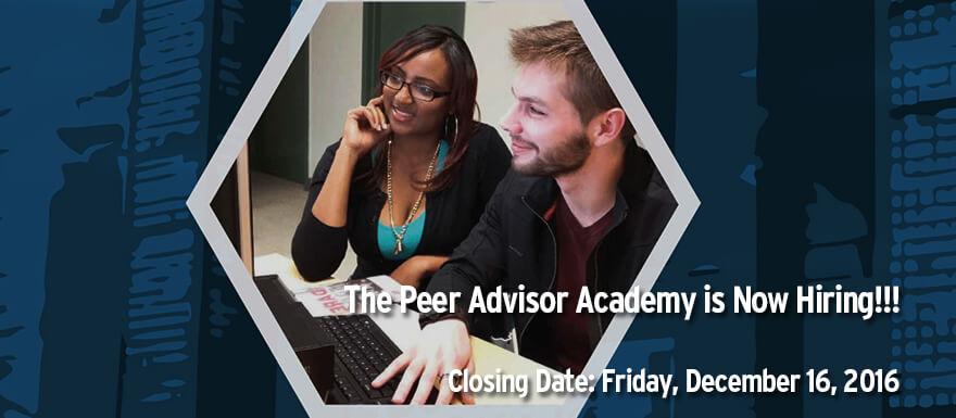 Peer Advisor
