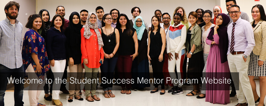 WElcome to the Student Success Mentor Program