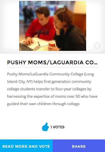 Image the voting for Pushy Moms